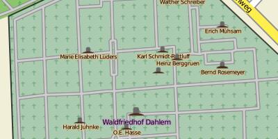 Waldfriedhof Dahlem in Berlin